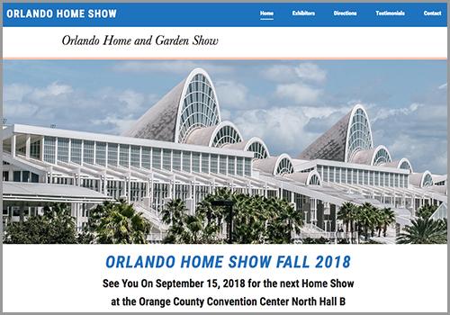 Web Design - Orlando Home Show